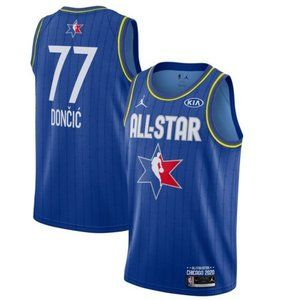 Luka Doncic 2020 NBA All-Star Finished Jersey